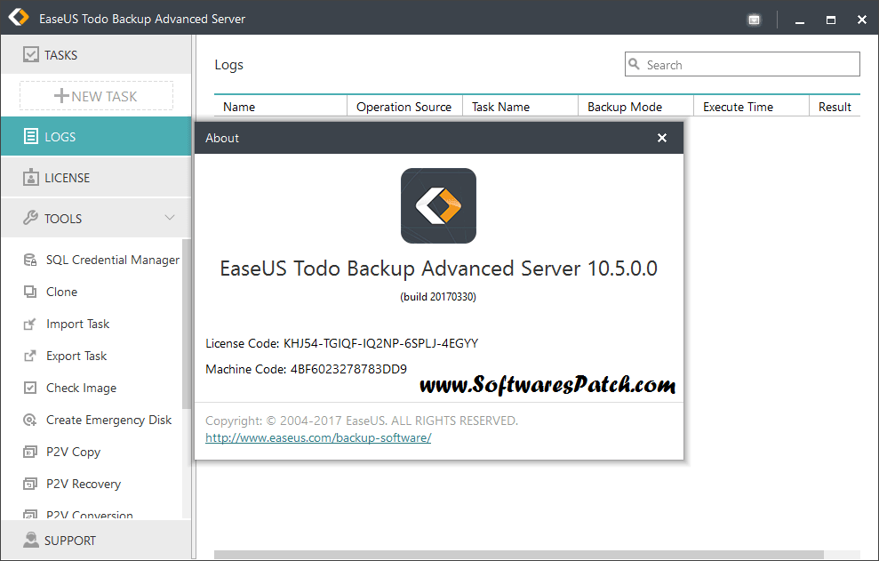 EaseUS Todo Backup 10.5 Full Keygen Activator Download