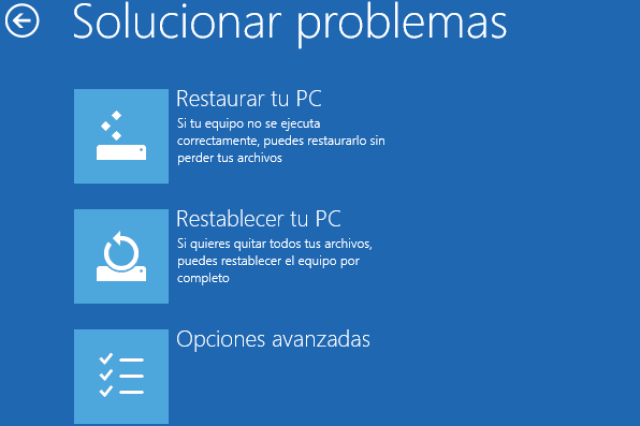 Reparar Windows10